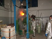 Ribaltamento del forno